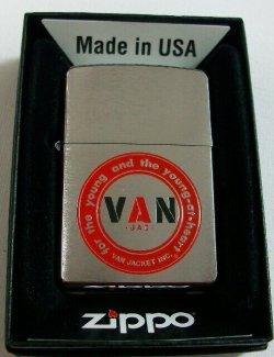 画像1: VAN JACKET!2011年 丸VAN レッドバージョン  限定300個 ZIPPO!新品