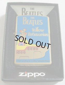 画像1: THE BEATLES!ビートルズ!2011年 イエロー・サブマリン BRASS ZIPPO!新品