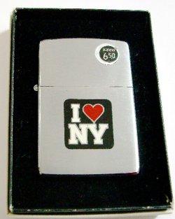 画像1: ☆1980年 I LOVE NY!アイ・ラブ・二ューヨーク VINTAGE #200 ZIPPO!未使用品,