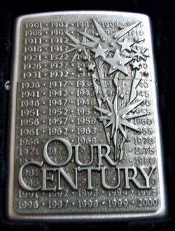 画像1: OUR CENTURY!ZIPPO社 2000年ミレニアム記念限定 ZIPPO!新品