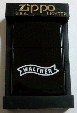 画像1: WALTHER!拳銃のワルサー 2000年 ブラック ZIPPO!新品