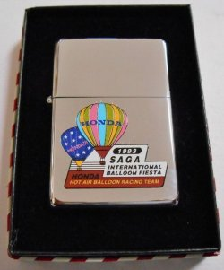 画像1: HONDA HOT BALLOON RACING TEAM!1993年 記念 1937 ZIPPO!新品
