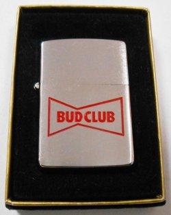 画像1: ☆ BUD CLUB!バドワイザー・ビール 1991年 ZIPPO 新品未使用品