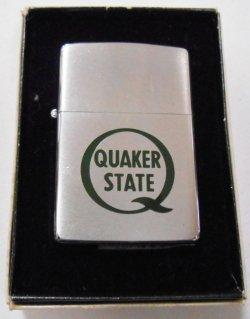 画像1: QUAKER STATE!1980年製 エンジンオイルの米国クエーカーステート ZIPPO!新品
