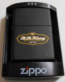 画像1: ☆B.B.キング!B.B.KING BLUES CLUB NewYork 2006年 Black Zippo!新品