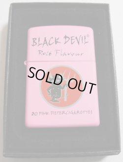 画像1: ★さんまさん使用!BLACK DEVIL!ブラック・デビル煙草 ピンク 2006年 ZIPPO!新品