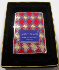 画像1: ジェームス・ディーン!1997年 色鮮やかな・・JDマーク ZIPPO!新品