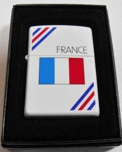 画像1: ☆フランス 国旗!お洒落な・・フラッグデザイン 2001年 ZIPPO!新品