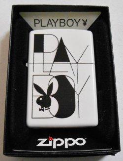 画像1: 人気の・・PLAYBOY!プレイボーイ 2011年 USA ホワイト ZIPPO!新品