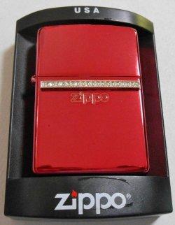 画像1: 色鮮やかな・・赤!レッド・クリスタル 2003年 ZIPPO!新品