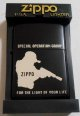 SPECIAL OPERATION GROUP!狙撃手1999年 BLACK ZIPPO!新品