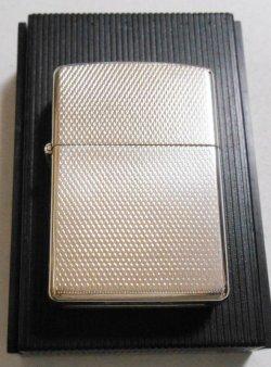 画像1: 1979年 VINTAGE #100S 繊細な・・両面デザイン柄 銀加工 ZIPPO!新品