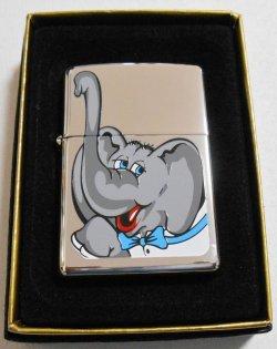 画像1: ☆名品復刻!1980年代 米国大統領選 共和党 可愛い・・象さん 2007年 ZIPPO!新品