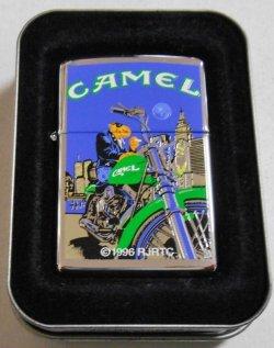 画像1: キャメル!CAMEL オートバイ JOE!1997年7月製 ♯250 ZIPPO!新品