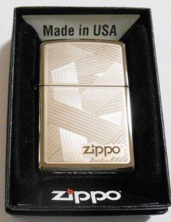 画像1: お洒落で繊細な・・彫刻デザイン!USA 2010年 ブラックアイス ZIPPO!新品