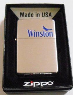 画像1: ☆ JT ウィンストン Winston  キャンペーン当選 シルバーサテーナ ZIPPO!新品
