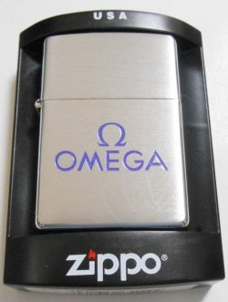 画像1: ☆OMEGA!高級時計メーカー 世界のオメガ!東京五輪公式時計会社 2004年 #200 ZIPPO!新品