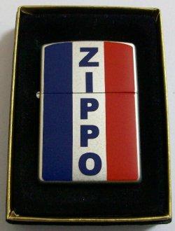 画像1: フランス 国旗!フラッグ 両面デザイン 2001年 ZIPPO!新品