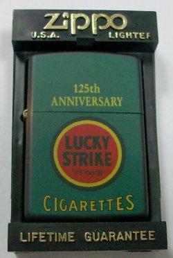 画像1: ☆LUCKY STRIKE!ラッキー・ストライク 125周年記念 1997年 ZIPPO!新品
