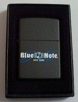 画像1: ブルーノート!JAZZの殿堂 Blue Note NewYork本店 ブラック ロゴ ZIPPO!新品