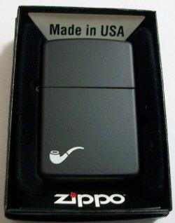 画像1: ★パイプ用 ジッポー!PIPE DESIGN ブラック  BLACK 2011年 ZIPPO!新品