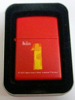 画像1: THE BEATLES!ビートルズ!アルバム 1 RED 2001年 ZIPPO!新品