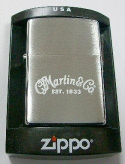 画像1: Martin Guitar!ギターの米国マーチン社 ロゴマーク 2002年 ZIPPO!新品