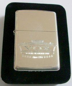 画像1: ☆純銀!英国アンプ VOX 創業50周年記念限定!STERLING SILVER 2007年 ZIPPO!新品