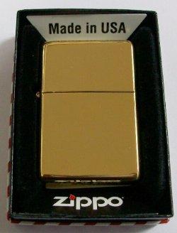 画像1: 1937モデル #270CC Vintage High Polish Brass ZIPPO!新品
