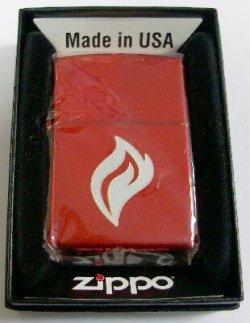 画像1: 赤の・・FIRE!キリン ファィア!炎の赤 GET the FIRE  ZIPPO!新品